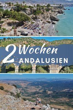 Was ist die perfekte Route für eine Rundreise mit dem Mietwagen durch Andalusien? Es gibt an der Küste und in den Bergen viele Sehenswürdigkeiten zu entdecken, die man am besten innerhalb von 1-2 Wochen mit dem Mietwagen anfährt. Mit unseren Erfahrungen aus unseren Rundreisen haben wir euch eine Route durch Andalusien für 1-2 Wochen zusammengestellt. Andalusien Rundreise | Andalusien Reiseroute | Andalusien Urlaub | Andalusien Rundreise 1 Woche | Andalusien Rundreise 2 Wochen Backpacking, Camping, Reisen In Europa, Roadtrip, Van Life, Menorca, Teenager, Bergen, Rivers