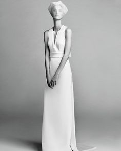 """Luxury fashion brand Viktor&Rolf willunveil its first-ever bridal line during Bridal Fashion Week this season, and it's safe to say thedresses make quite an entrance. See for yourself in our exclusive first look at the collection, called """"Viktor&Rolf Mariage,"""" the French version of the word and a play on their Paris roots. """"We have always been fascinated by wedding dresses,"""" say the designers Viktor Horsting and Rolf Snoeren, who met at art school in the Netherlands and f..."""