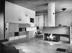 1949 - The John Entenza House, aka Case Study House 9, 205 Chautauqua Boulevard, Pacific Palisades CA. Designed by Charles Eames and Eero Saarinen.