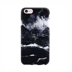 Marble Case for iPhone 7 - Black