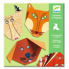 Learn the ancient craft of paper folding with this Djeco Origami Kit. The kit contains everything you need, including step-by-step instructions. Origami Design, Origami Set, Origami Mouse, Origami Yoda, Origami Dragon, Origami Fish, Origami Folding, Origami Stars, Paper Folding