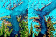 Columbia Glacier in Alaska (2013)