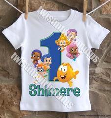 Boys Bubble Guppies Birthday Shirt - 18M t-shirt / Short Sleeve
