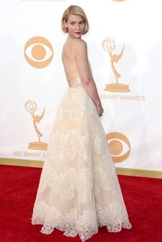 22 Gowns That Won At Last Night's Emmys #refinery29  http://www.refinery29.com/2013/09/53962/emmys-dresses-2013#slide16  Claire Danes Ah, yes, the woman of the hour, who has proven to be the Meryl Streep of the Emmys (kind of). Claire Danes' Armani Privé will certainly dominate every best-dressed list, because, hey: It looked amazing.