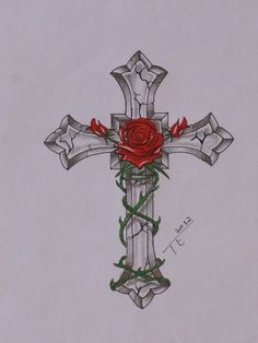 Cross And Rose Tattoo 1659.jpg