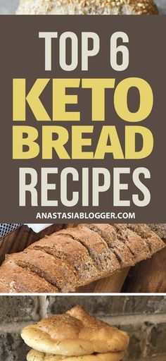 Keto bread recipes to keep your Ketosis and eat products you are used to. These Easy Low Carb bread recipes are ideal for Keto diet and will help you stay in Ketosis without restricting your favorite food. Easy Low Carb Bread Recipe, Lowest Carb Bread Recipe, Bread Recipes, Low Carb Recipes, Healthy Recipes, Banting Recipes, Bariatric Recipes, Pizza Recipes, Fish Recipes