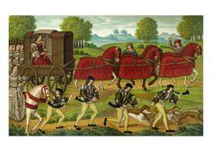 Medieval Ladies Hunting
