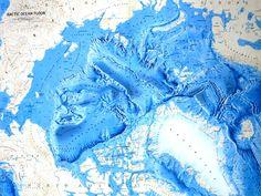 Arctic Ocean. Ocean Floor Relief Maps | Detailed Maps of Sea and Ocean Depths - Foto Gallery on OrangeSmile.com