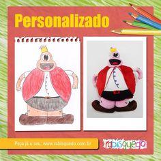 Crie seu personalizado em www.rabisquedo.com.br