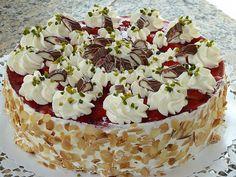 Erdbeerkuchen mit Vanillecreme (Rezept mit Bild) von sandy07 | Chefkoch.de