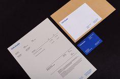 YCN Studio stationery Promotion Ideas, Self Promotion, Invoice Design, Stationery Design, Corporate Stationary, Brand Identity, Branding, Compliment Slip, Letterhead