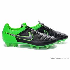 pretty nice 632d1 4c791 Nike Tiempo Legend V FG Black Green 63.99. Orange Superfly