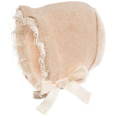 <div>Baby girls beige Naturapurabonnet with ruffled ivory lace trim. Knitted in a soft organic cotton, it has an adjustable chin strap with poppers to fasten. In a timeless style with a bow on the side to finish, it is perfect for both smart and casual occasions.</div> <ul> <li>100% organic cotton (soft fine knit)</li> <li>Machine wash (40*C)</li> <li>True to size fitting</li> <li>Adjustable chin strap with poppers to fasten</li> </ul>
