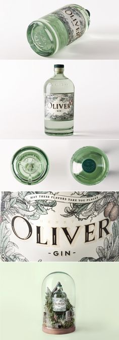Henry Oliver Gin — The Dieline | Packaging & Branding Design & Innovation News