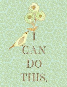 It won't always be easy - by any stretch - by you can do this. #quotes #chronically #ill #illness #health #hope