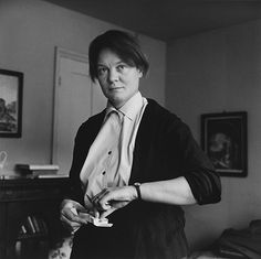 Credit: Michael Peto/© University Of Dundee, The Peto Collection Iris Murdoch in 1962, on the publication of her novel 'An Unofficial Rose'
