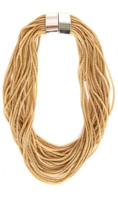 Nanni  Gold Tone necklace -  #accessories