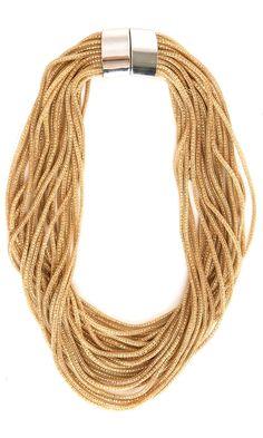 Nanni  Gold Tone necklace -  #accessories