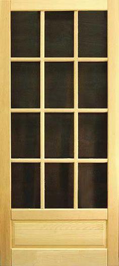 Coppa Woodworking Wood Screen Doors And Wood Storm Doors   Doors
