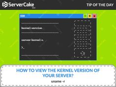 How to view the kernel version of your server? Ans: uname -r #SSHCommands #KernalVersion #WHM