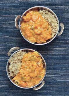 Navratan Koorma - a flavorful nine vegetable comfort food #vegan #glutenfree