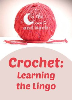 Do all the strange crochet abbreviations and terminology confuse you? Then use this simple guide to get your started on the road to deciphering it all!