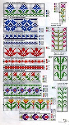 Thrilling Designing Your Own Cross Stitch Embroidery Patterns Ideas. Exhilarating Designing Your Own Cross Stitch Embroidery Patterns Ideas. 123 Cross Stitch, Cross Stitch Bookmarks, Cross Stitch Borders, Cross Stitching, Cross Stitch Embroidery, Cross Stitch Patterns, Fair Isle Knitting Patterns, Fair Isle Pattern, Knitting Charts