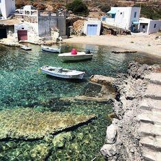 Kimolos island...Greece..... Karpathos Greece, Greek Beauty, Ancient Ruins, Past, Island, Landscape, World, Water, Instagram Posts