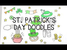 Doodle with Me : St Patrick's Day Doodles! - YouTube