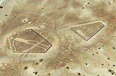 Deserto do Colorado - Os Estranhos Geoglifos Gigantes Deixados no Árido Deserto!!