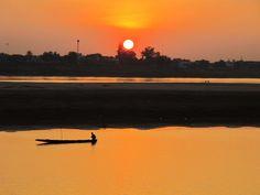 Vientiane, Laos - Coucher de soleil