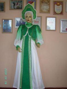 Стилизованный русский народный танцевальный костюм