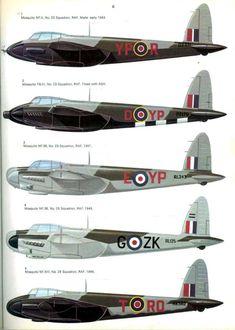 28 De Havilland Mosquito