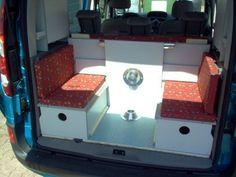 C-tech: Campingvan - Minicamper - Renault Kangoo - Camper, Camping