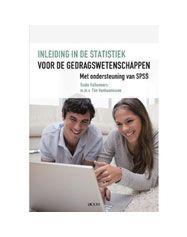 Valkeneers, Guido. Inleiding in de statistiek voor de gedragswetenschappen: met ondersteuning van SPSS. Plaats VESA 301.2 VALK