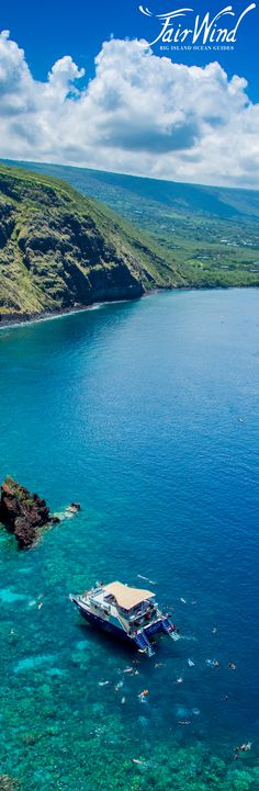 Hawaii's BEST snorkel cruise! Join Fair Wind Cruises as it heads down the south Kona coast of the Big Island to Kealakekua Bay.