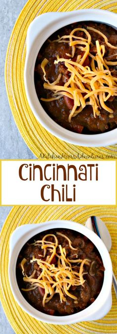 Cincinnati Chili the way it is meant to be made!