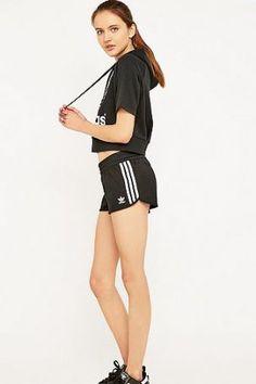 adidas Originals – Laufshorts mit 3-Streifen-Design – Damen 40