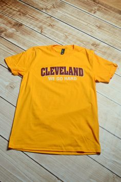 Cleveland we go hard by PiperAndStone on Etsy