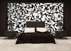 Bij het juist toepassen van zwart en wit fotobehang kan je een weelderige en chique uitstraling bekomen.