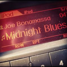 Joe Bonamassa. Midnight Blues.