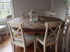 Lovely round kitchen table - My-House-My-Home
