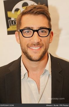 Jonathan Togo in specs geek chic yummy ;p