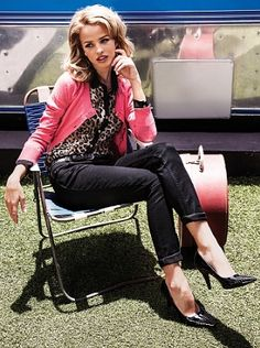 Pastels, Patterns & Peep-Toes - Truworths Has it All Current Fashion Trends, All Things, Leather Jacket, Lifestyle, Catwalks, Latest Styles, How To Make, Patterns, Jackets