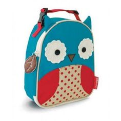 Skip Hop Lunch Bag - Zoo Lunchies - Owl