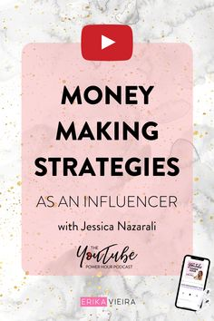 Money Making Strategies As An Influencer - Erika Vieira Blogger Tips, Influencer Marketing, Blogging For Beginners, Social Media Tips, Erika, How To Make Money, Content Marketing, Youtubers, Video Channel