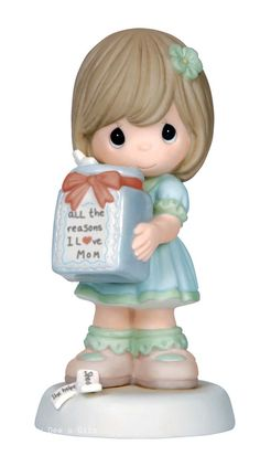 Precious Moments All The Reasons I Love Mom - Girl  144001 Mother NIB