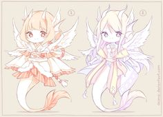 [CLOSED] ADOPTABLES   Celestial Dragons by ocono.deviantart.com on @DeviantArt