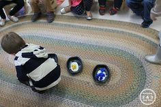 Circle time activities for preschool 2 and 3 year olds.