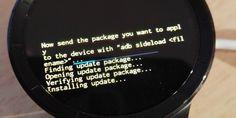 Huawei Watch erhält Android Wear 1.5 Update #Downloads #Firmware #Huawei_Watch